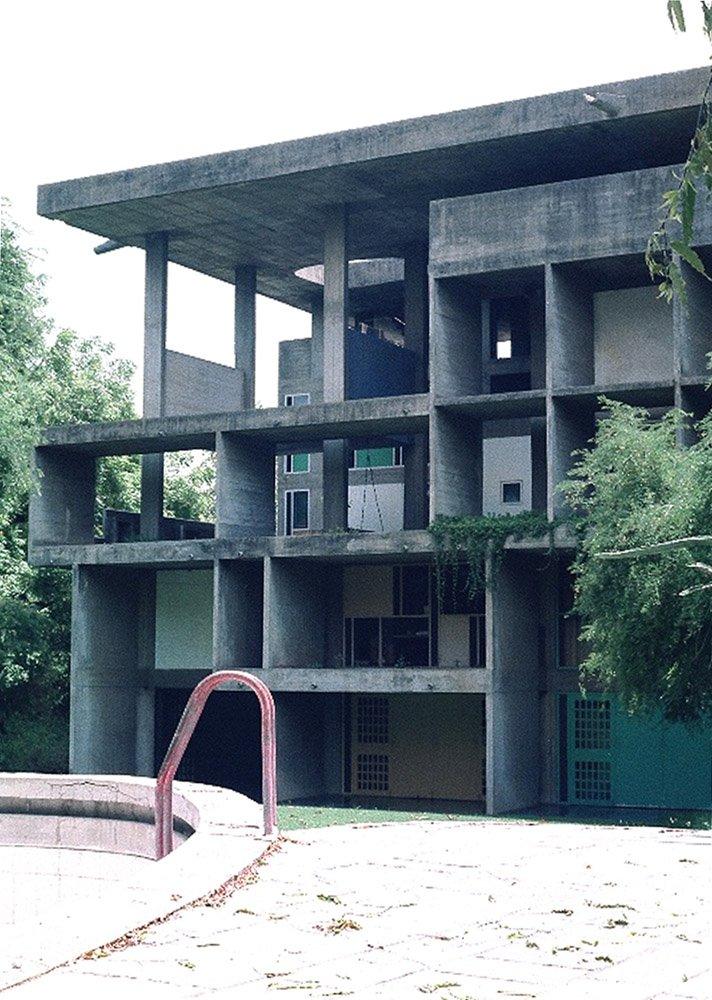 Great Buildings Online Image - Shodan House  :  india buildings corbusier house