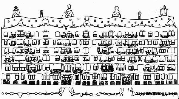 Casa Mila Section