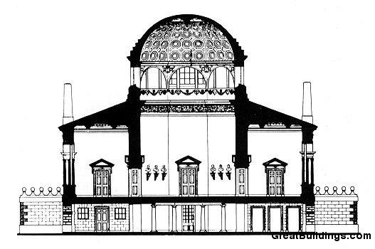Great Buildings Drawing Chiswick House