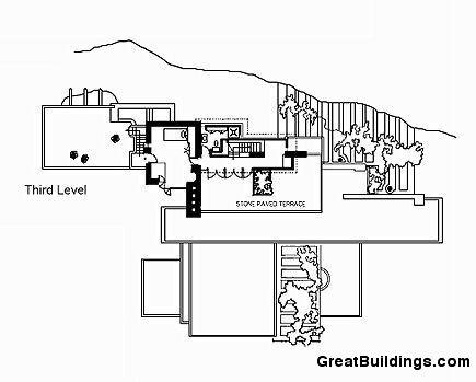 ... Fallingwater Floor Plan With Falling Water Plan ...