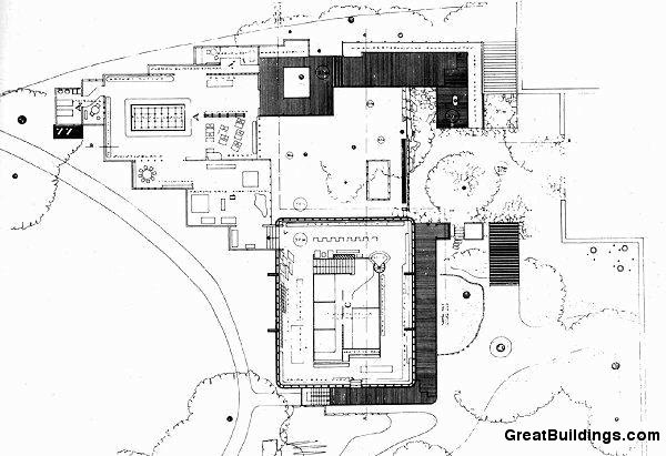 Great Buildings Drawing Finnish Pavilion 1937