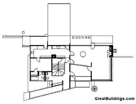 Gropius House great buildings drawing gropius house
