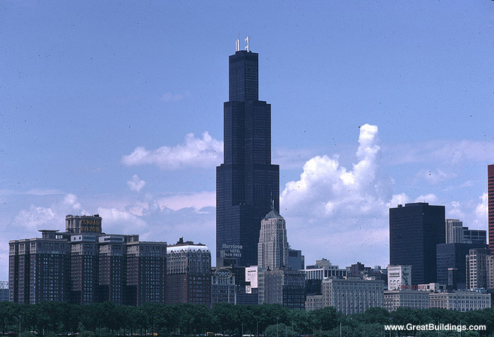 Great Buildings Image - SEARS Tower